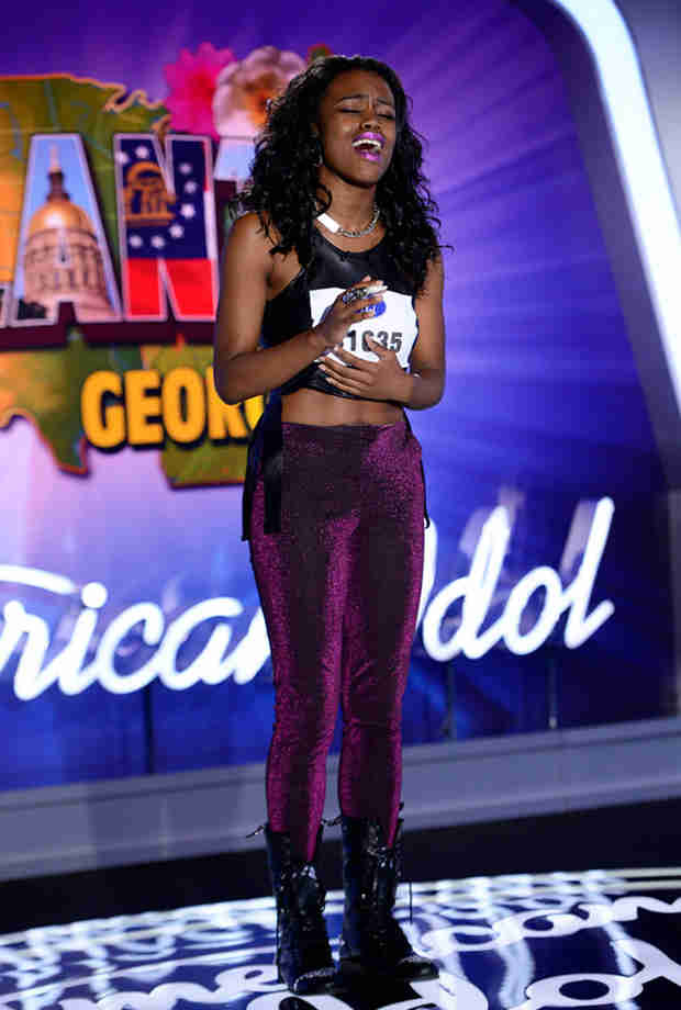 "Watch Bria Anai Johnson Sing ""One and Only"" in American Idol 2014, Atlanta Auditions"