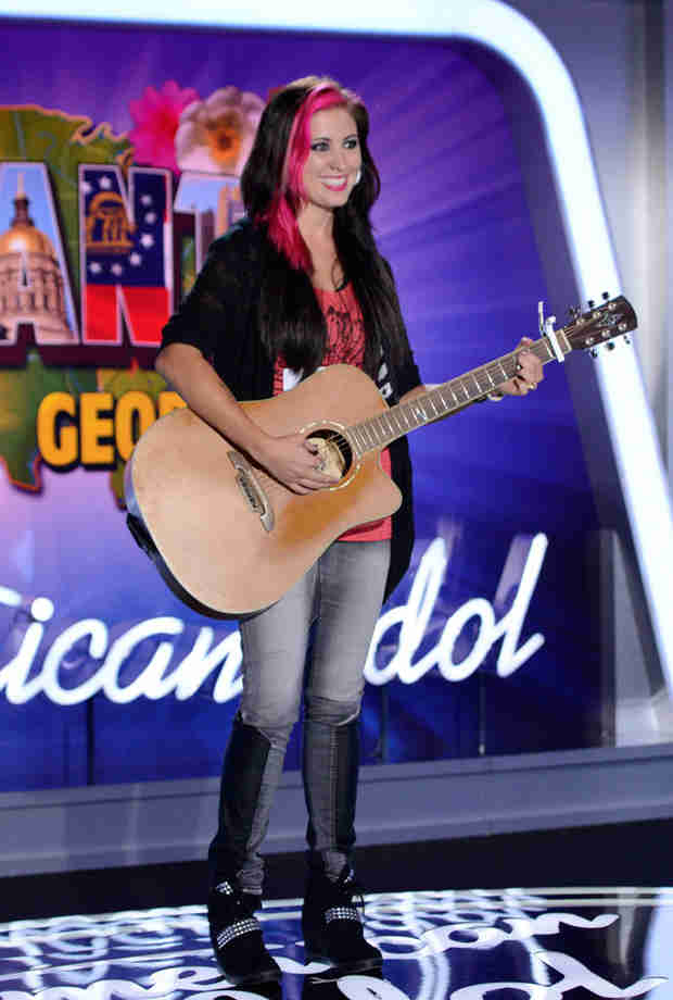 "Watch Jess Meuse Sing ""Blue-Eyed Lie"" in American Idol 2014, Atlanta Auditions"