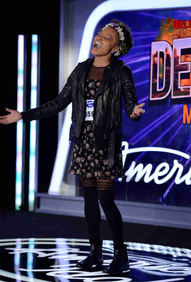 "Watch Jade Lathan Sing ""You Know I'm No Good"" in American Idol 2014, Detroit Auditions"