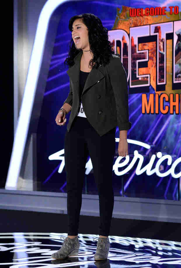 "Watch Jena Asciutto Sing ""Rolling in the Deep"" in American Idol 2014, Detroit Auditions"
