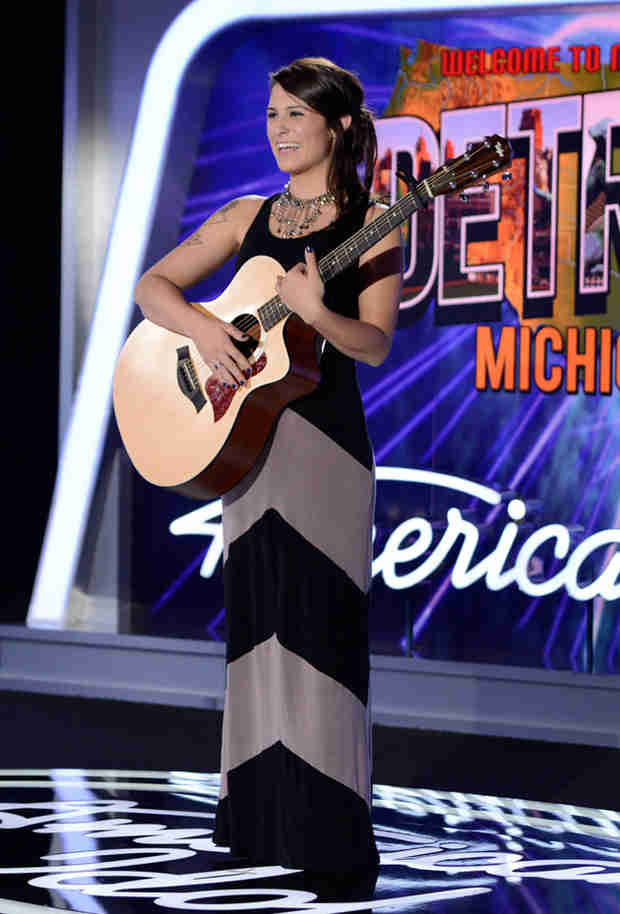 "Watch Keri Lynn Roche Sing ""Radioactive"" in American Idol 2014, Detroit Auditions"