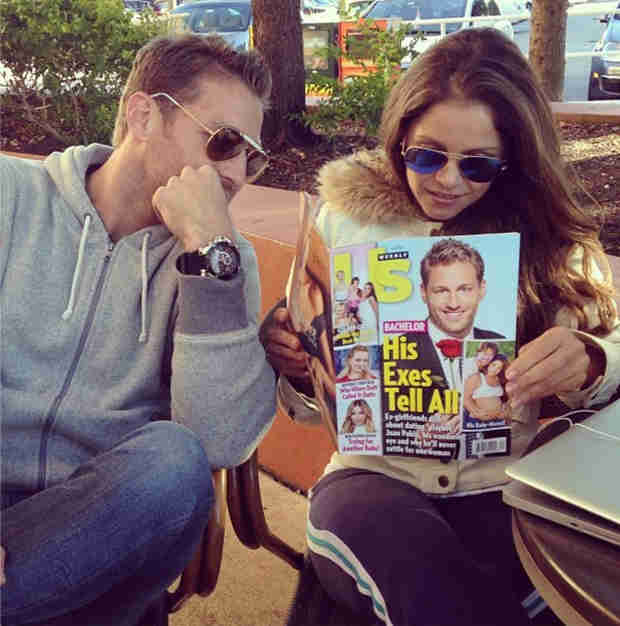 Juan Pablo and Ex Carla Rodriguez Hang Out and Do WHAT?!