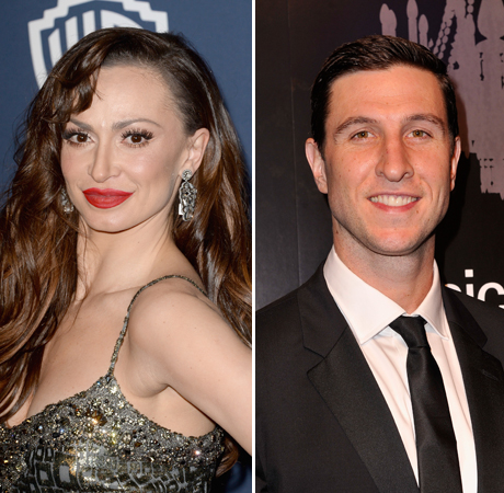 Karina Smirnoff and Orange Is the New Black's Pablo Schreiber Flirt — Check Out His Bachelor Pickup Line!