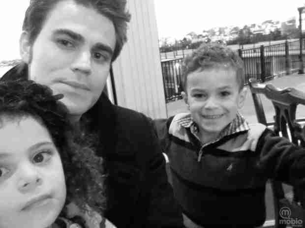 Vampire Diaries' Paul Wesley Is One Hot Uncle — Swoon Alert! (PHOTO)