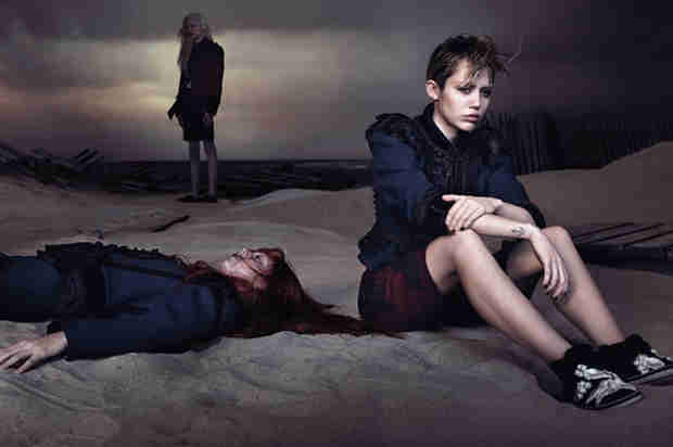Miley Cyrus Sulks in New Marc Jacobs Spring Campaign (PHOTO)