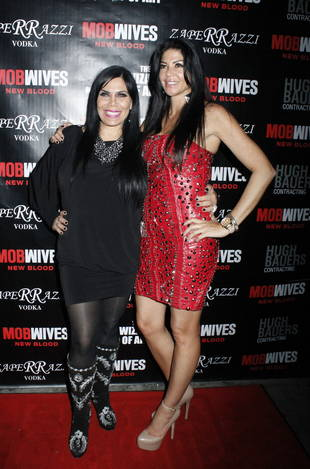 Mob Wives Sneak Peek: Renee Graziano and Alicia DiMichele Face-Off! (VIDEO)
