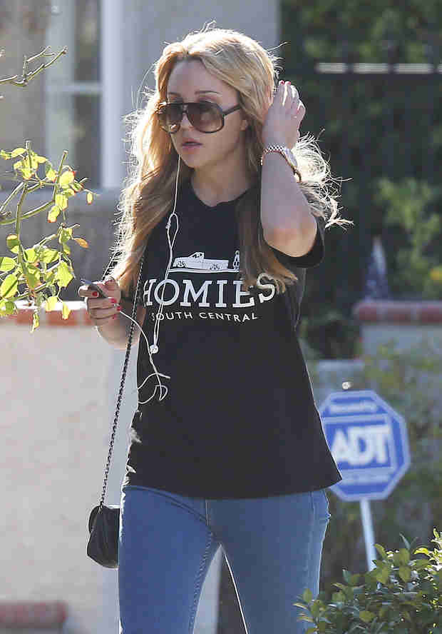 Amanda Bynes Has First Day of School at FIDM — How Did It Go?