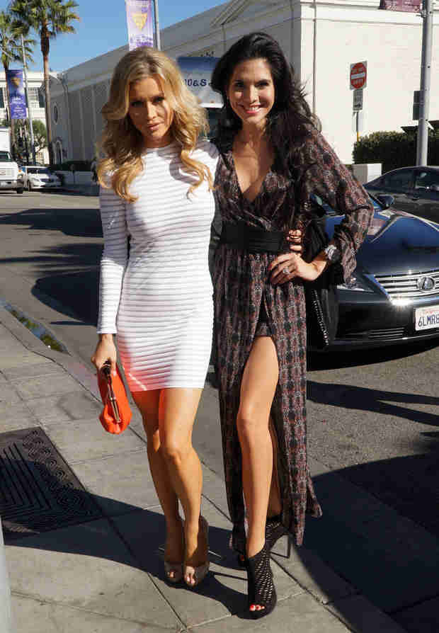 Joyce Giraud and Joanna Krupa Bond Over Their Feuds With Brandi Glanville (PHOTO)