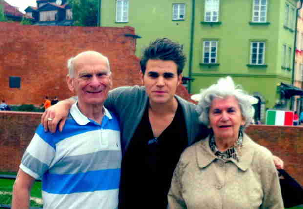 Vampire Diaries Star Paul Wesley Shares Adorable Photo of Him With His Grandparents!