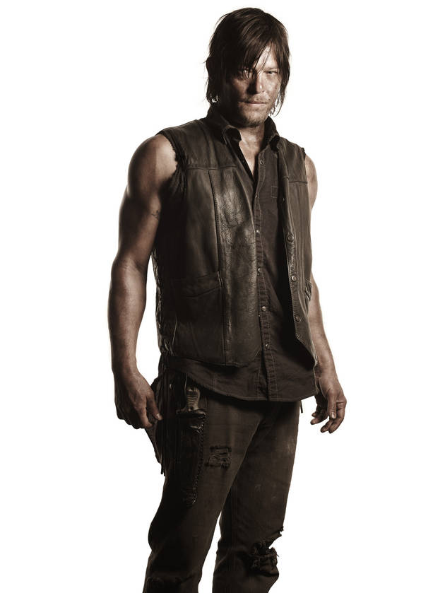 The Walking Dead Action Figures: New Daryl Dixon — With a Motorcycle