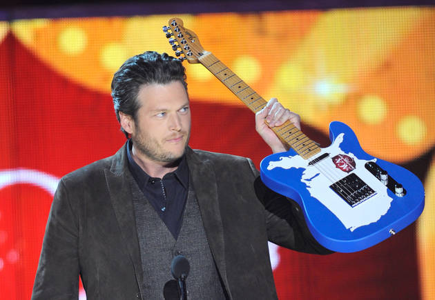 Blake Shelton Named Most Influential, Trustworthy Grammy Nominee in Poll