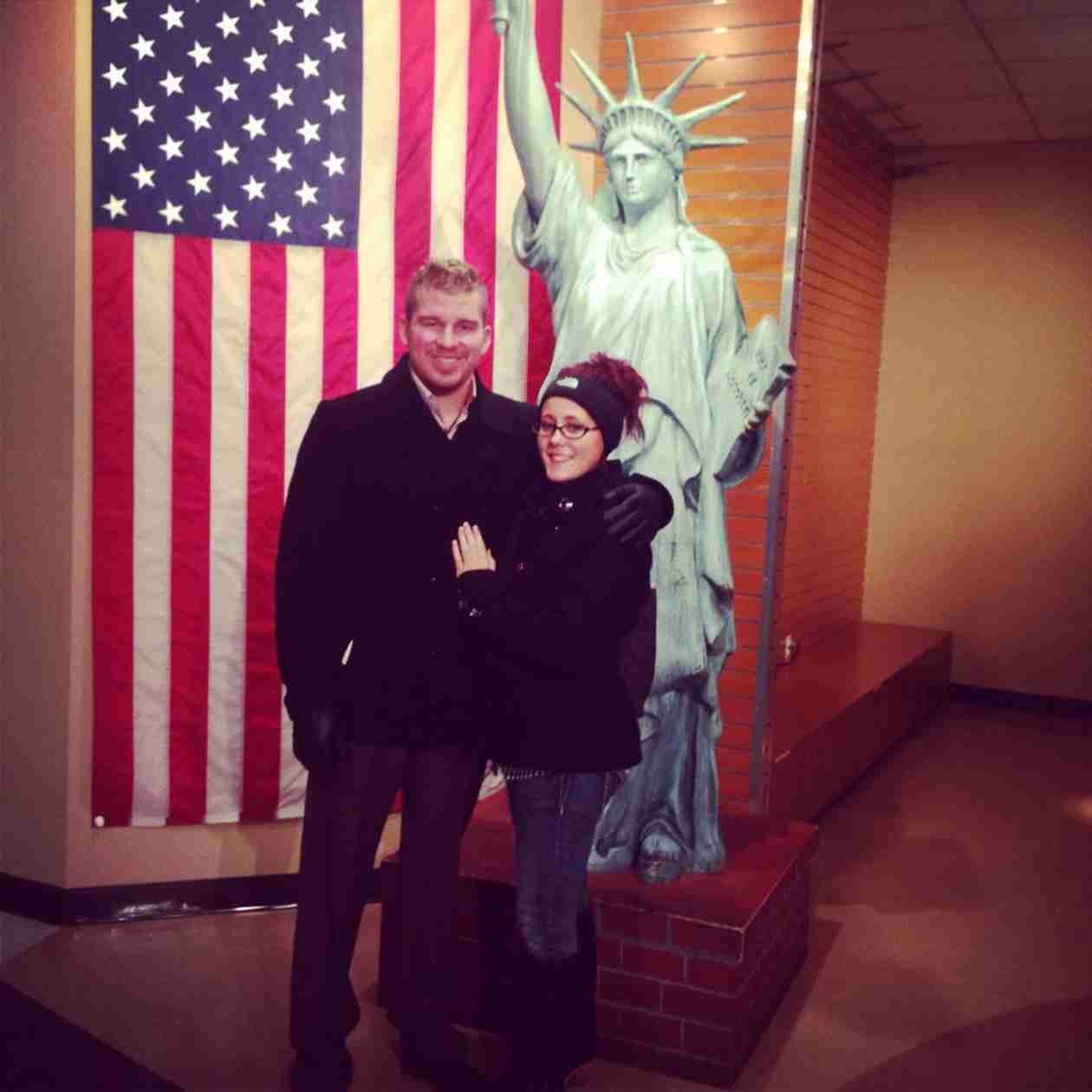 Jenelle Evans and Boyfriend Nathan Griffith Take Romantic Tour of New York City (PHOTOS)