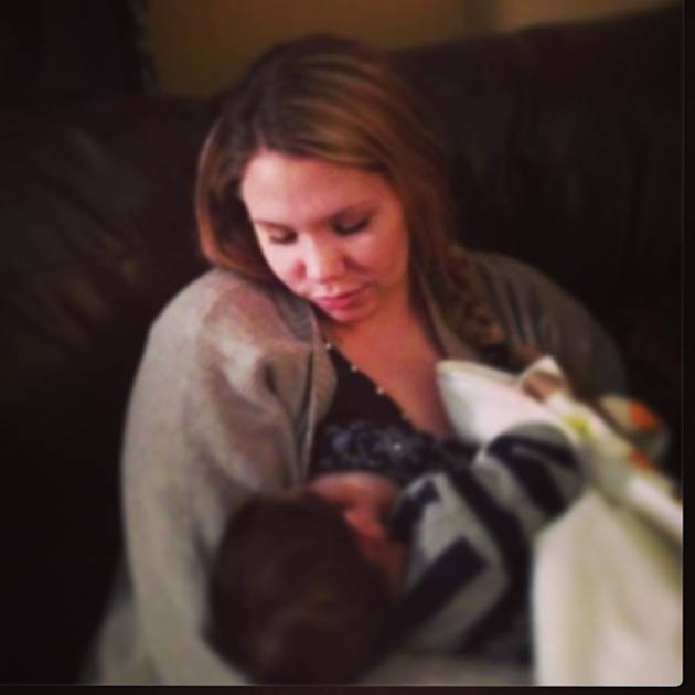 Kailyn Lowry's Son Lincoln Cracks a Smile — Cute Baby Alert! (PHOTO)