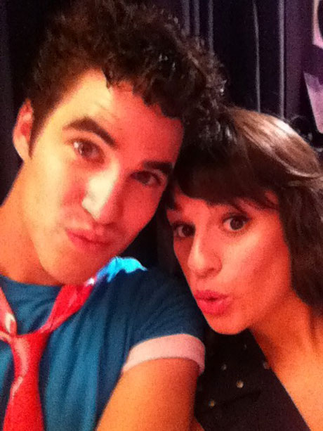 Lea Michele and Darren Criss React to 2014 People's Choice Awards Loss