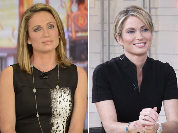 "GMA's Amy Robach Cuts Hair Short to ""Take Control"" Away From Cancer (PHOTO)"