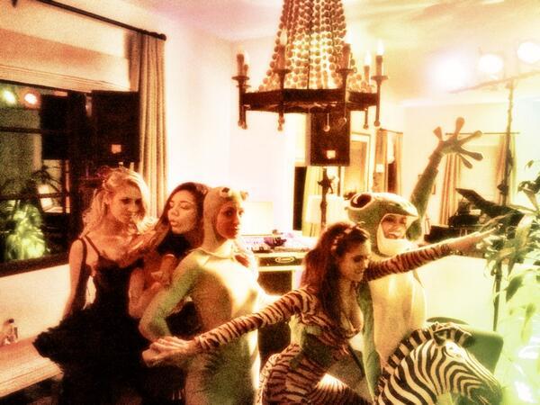 Vampire Diaries Cast Celebrates Nina Dobrev's Birthday Animal-Style! (PHOTOS)