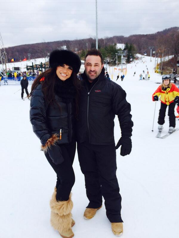 The Giudice Family Hits the Slopes