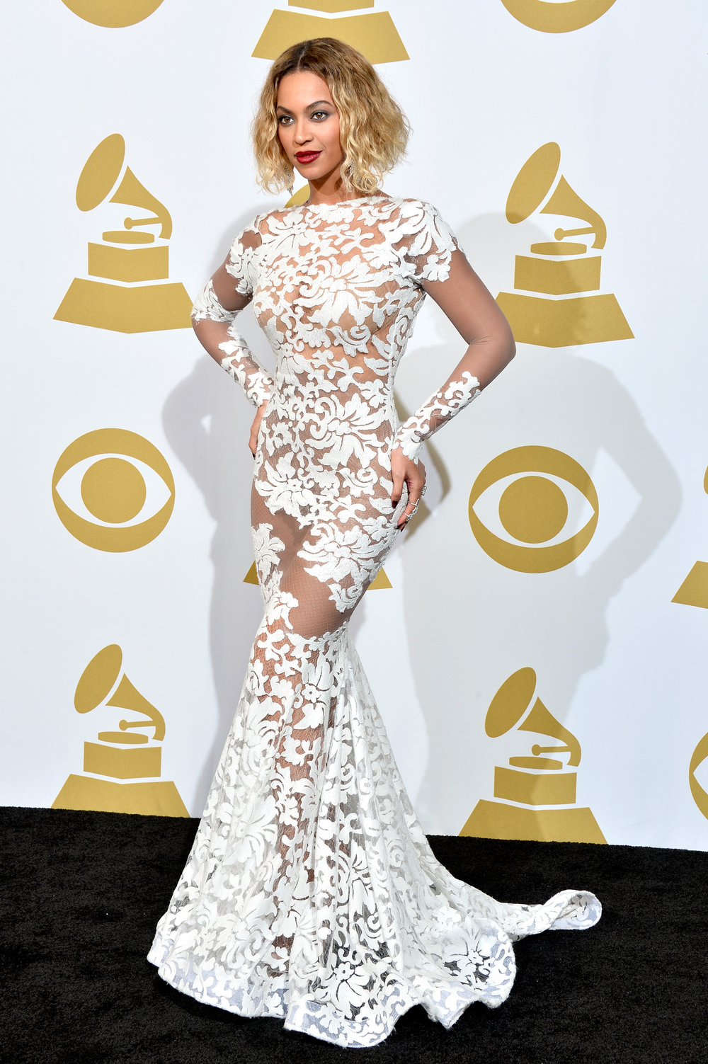 Beyoncé Wore $10 Million Worth of Lorraine Schwartz Diamonds at the 2014 Grammys