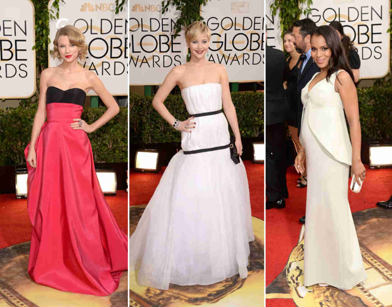 Jennifer Lawrence, Kerry Washington, or Taylor Swift: Which Golden Globe Nominee Would You Hang Out With?