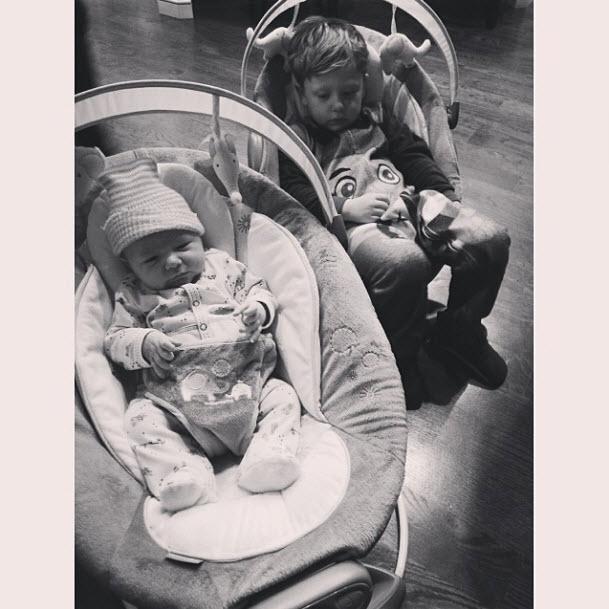 Is KJ Biermann Jealous of His New Twin Siblings? (PHOTO)