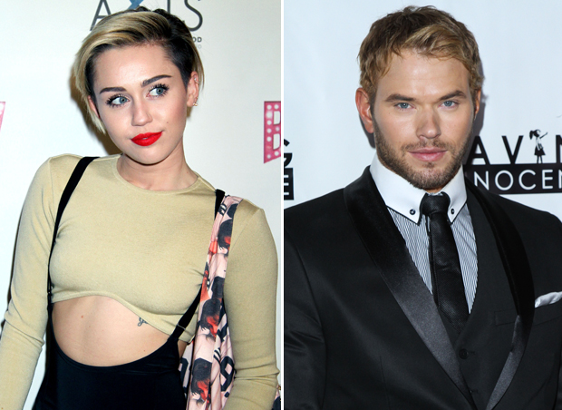 "Kellan Lutz on Miley Cyrus: She's a ""Cool, Secure Woman,"" But We're Not Dating"