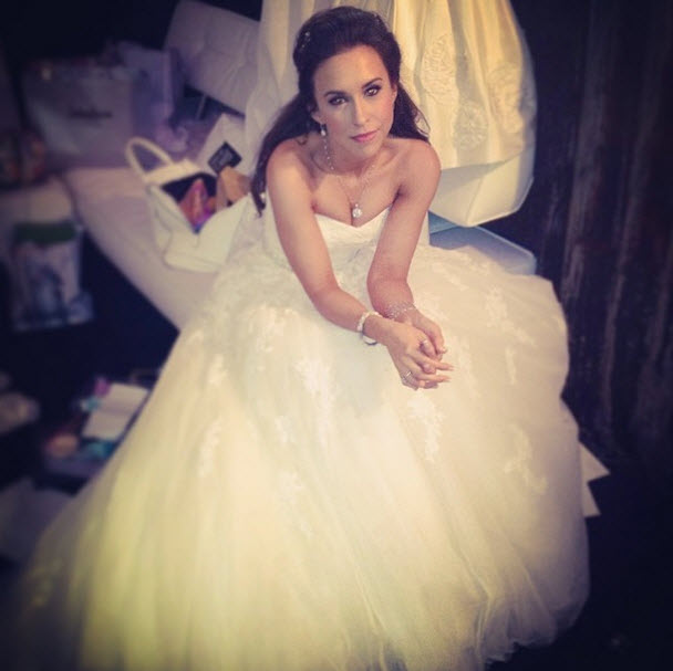 Mean Girls Star Lacey Chabert Shows Off Her TWO Wedding Dresses (PHOTOS)