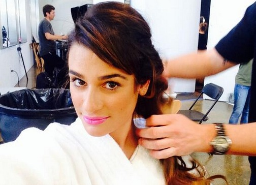 Lea Michele's New Seventeen Magazine Cover! See Her First-Look Photos