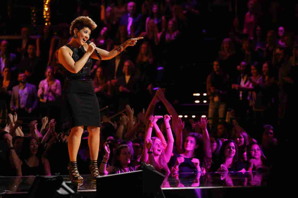 Tessanne Chin Performs With Shaggy and WHICH Voice Alum?