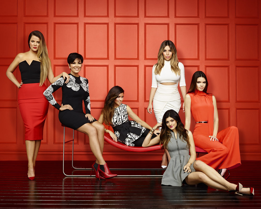 The Kardashians Red Hot in KUWTK Season 9 Promo Pic — But Who's Missing?