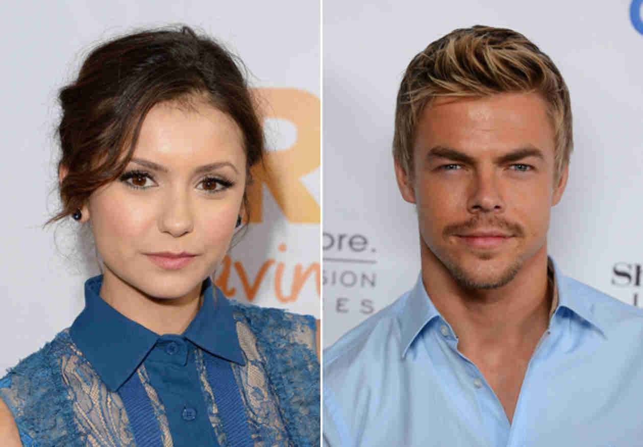 Why Nina Dobrev and Derek Hough Would Make a Cute Couple
