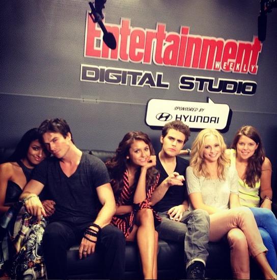 The Vampire Diaries Cast Braves Atlanta's Snowpocalypse (PHOTOS)