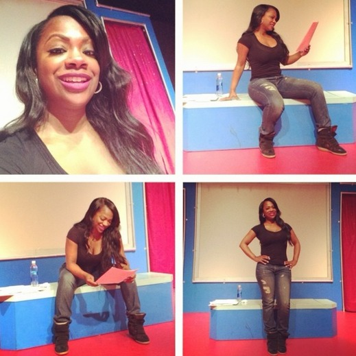 Kandi Burruss Heads to Rehearsal For Her Off-Broadway Show (PHOTOS)