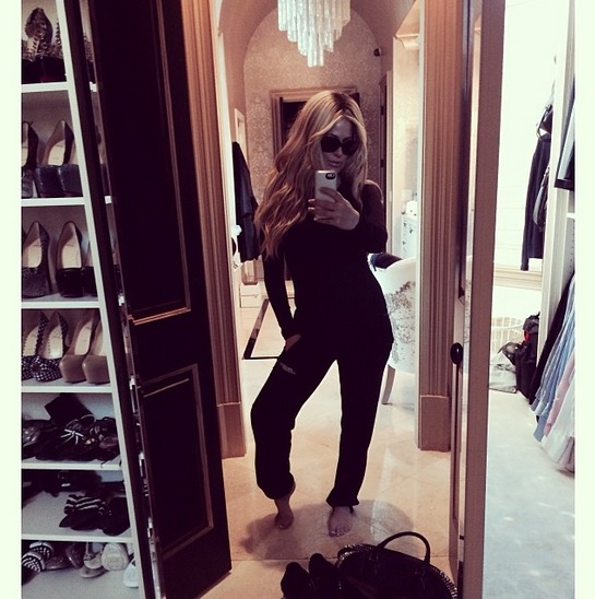 Kim Zolciak Hits the Gym — Who's Her Trainer? (PHOTO)