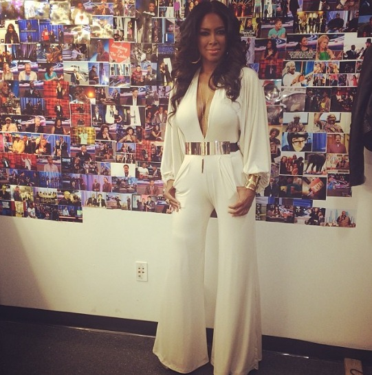 Kenya Moore Rocks Haute Couture Jumpsuit: Hot or Not? (PHOTO)