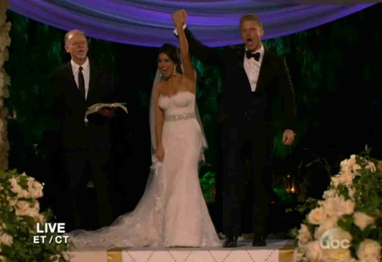Bachelor Nation Reacts to Sean and Catherine's Live Wedding