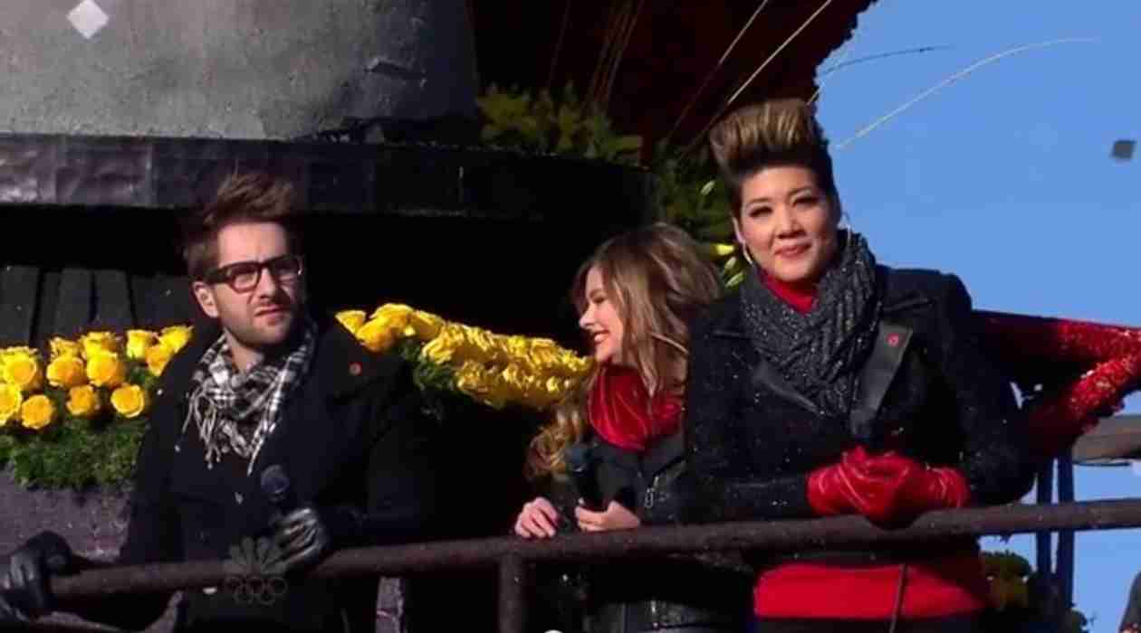 The Voice's Rose Bowl Parade Appearance Was a Total Fiasco! (VIDEO)