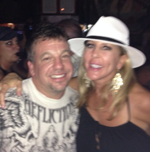 Vicki Gunvalson Parties in Puerto Vallarta With Brother Billy (PHOTOS)