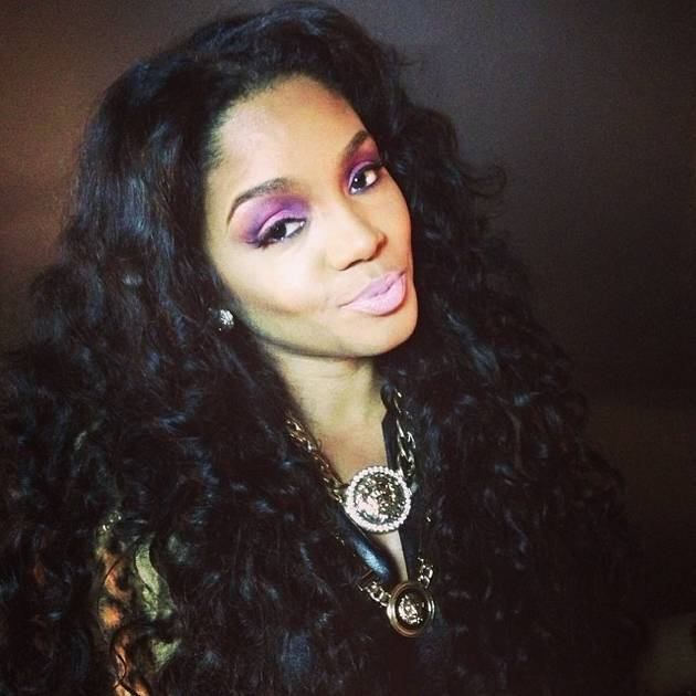 "Rasheeda Frost Lets Her Hair ""Breathe"" and Rocks Natural Curls! (PHOTO)"