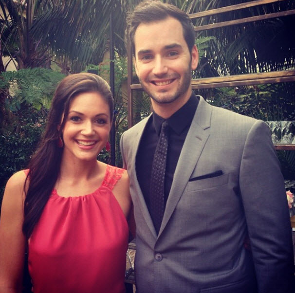 Desiree Hartsock and Chris Siegfried Spotted Holding Hands at Sean and Catherine's Wedding: See the Pic!