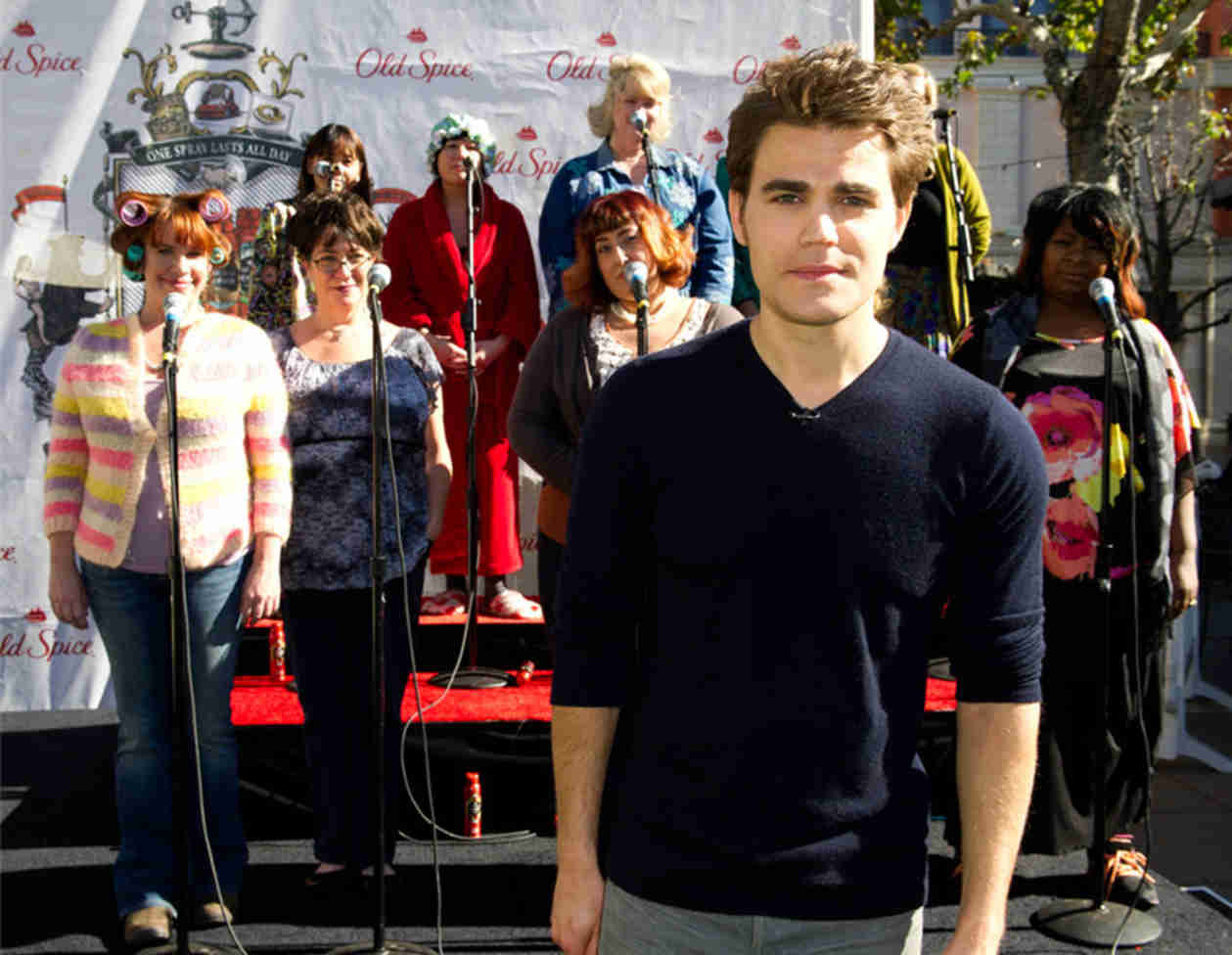 "Paul Wesley Urges His Fans to ""Scent Responsibly"" (PHOTOS)"