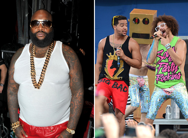 "Rick Ross Suing LMFAO Over ""Party Rock"" Lyric — Shufflin' vs. Hustlin'"