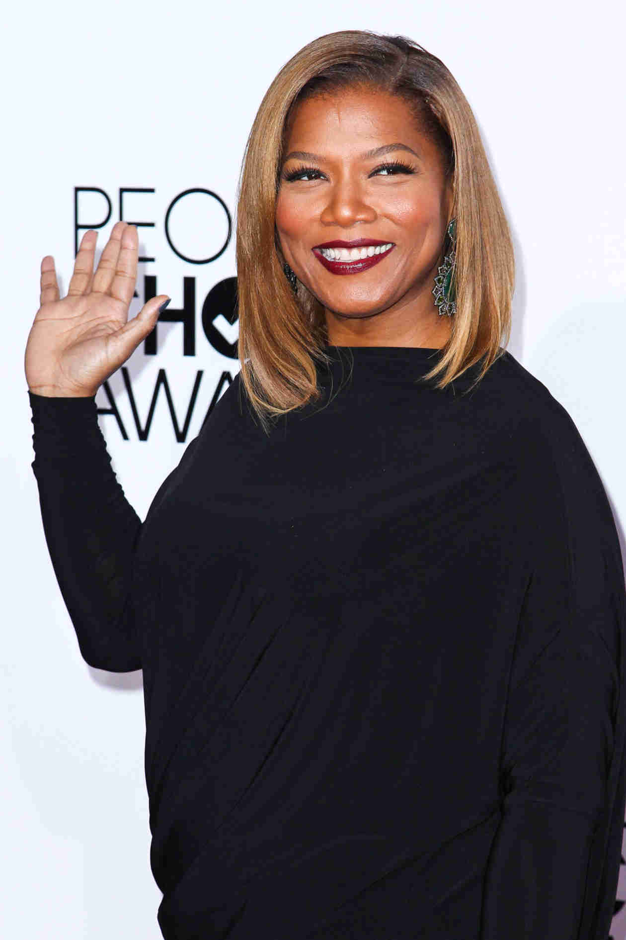 Queen Latifah Debuts Sleek New Haircut at 2014 People's Choice Awards (PHOTO)