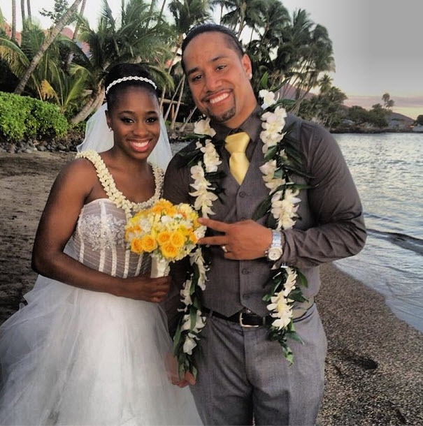 Total Divas' Trinity McCray and Jonathan Fatu Are Married!