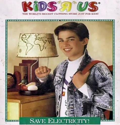 Ian Somerhalder as a kid