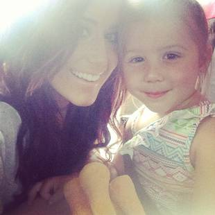 Chelsea Houska and Adam Lind Attend Aubree's Pre-School Orientation Together (VIDEO)