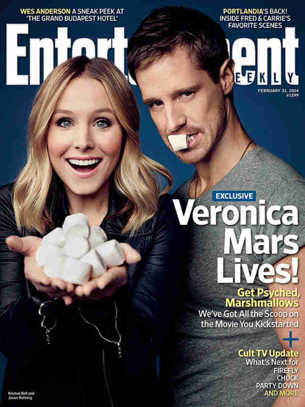 Veronica Mars: Kristen Bell and Jason Dohring Cover Entertainment Weekly!