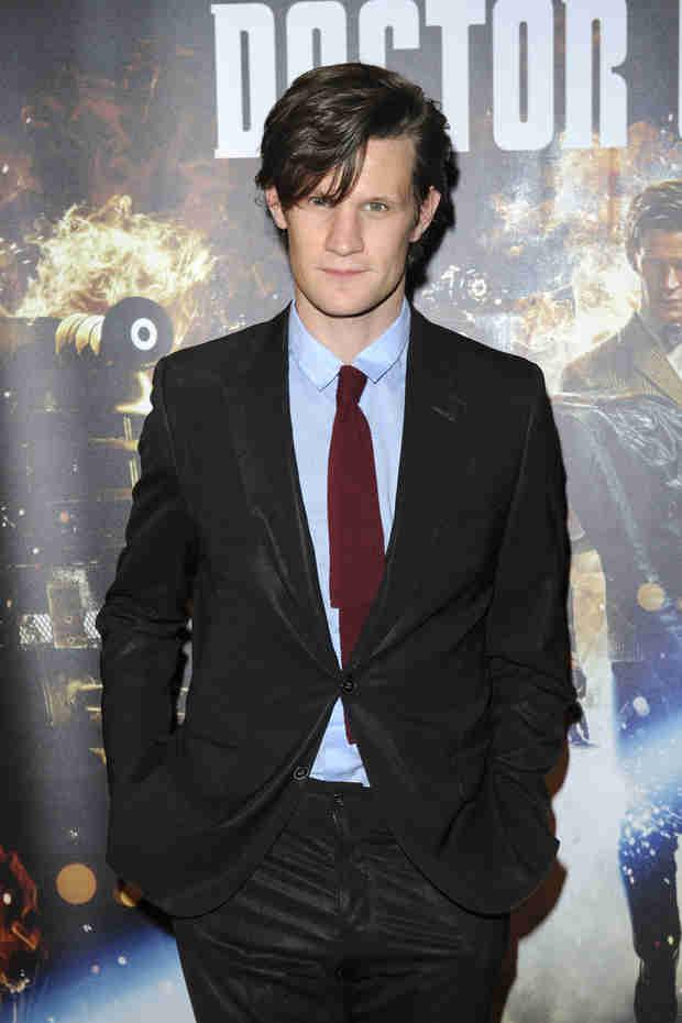 Doctor Who's Matt Smith Wants Role on The Walking Dead!
