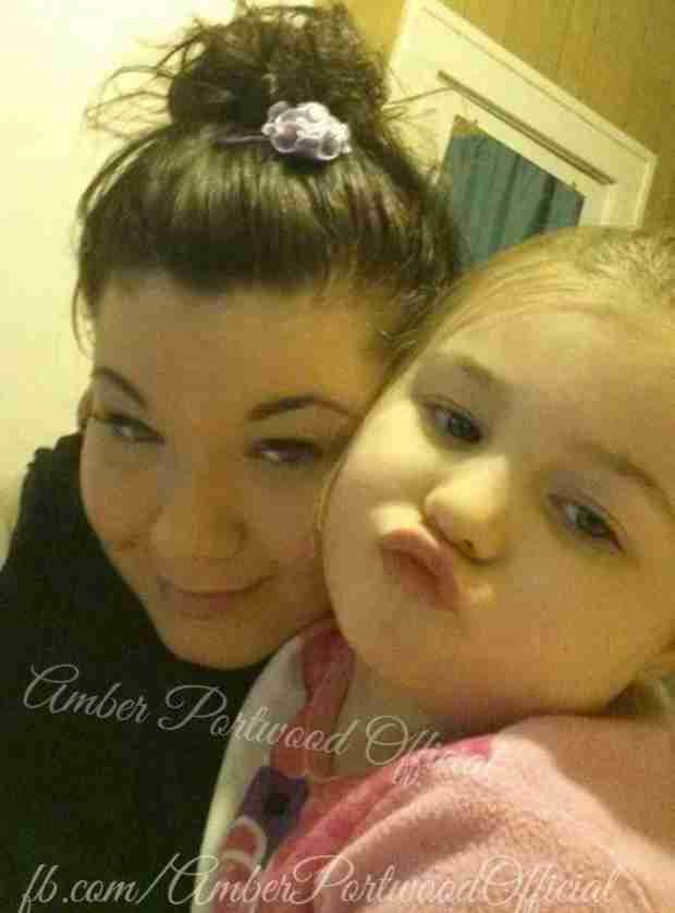 Amber Portwood Spends Time With Daughter Leah After Early Prison Release