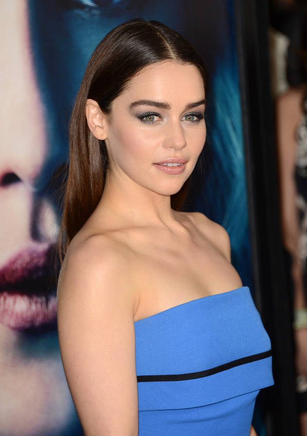 Game of Thrones' Emilia Clarke First on Most Desirable Women of 2014 List — Miley Cyrus Last