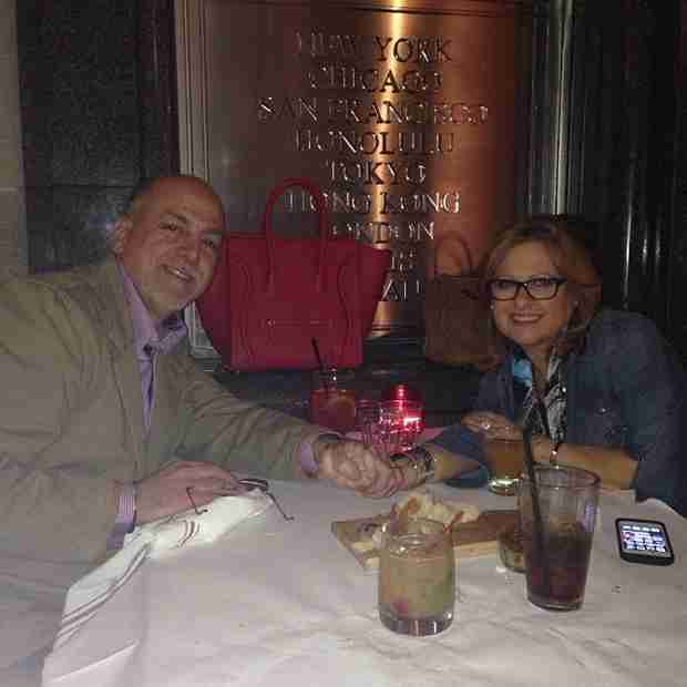 "Caroline Manzo Poses With ""Love of Her Life"""